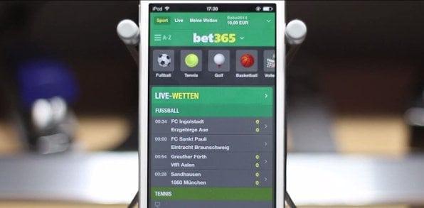 Umfangreiches mobiles Livecenter mit pro Jahr über 50.000 Sportevents in der Liveübertragung