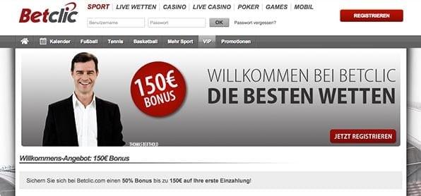 NeNeue Kunden erhalten einen Einzahlungs-Bonus von bis zu 150€