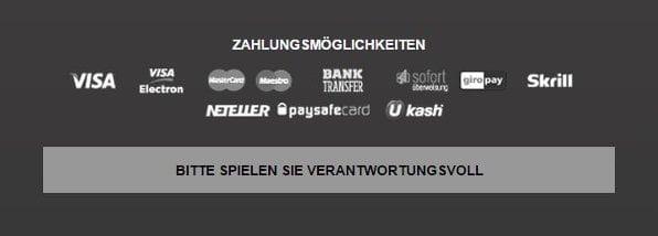 Betclic bietet einige Zahlungsmethoden wie beispielsweise Kreditkarten und e-Wallets