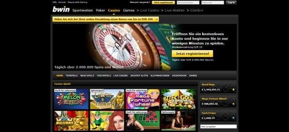 Das bwin Casino lockt mit Punkten, die man für hochwertige Prämien einlösen kann
