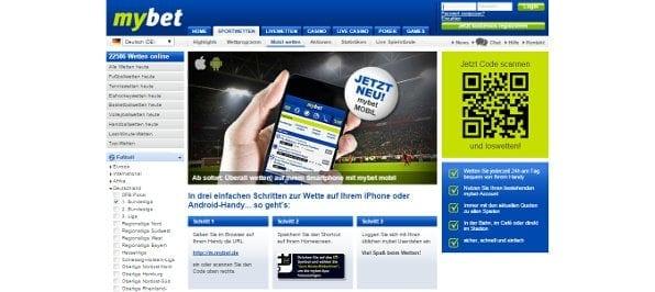 Die mybet App ist kompatibel für alle gängigen Systeme und bietet das gesamte Wettangebot