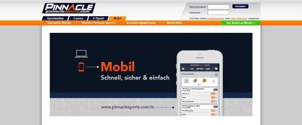 Die mobile App von Pinnacle: Sehr durchdacht ausgearbeitet
