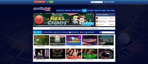 Im attraktiven Casino stehen 150 Spiele für Sie bereit