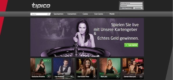 tipico casino test