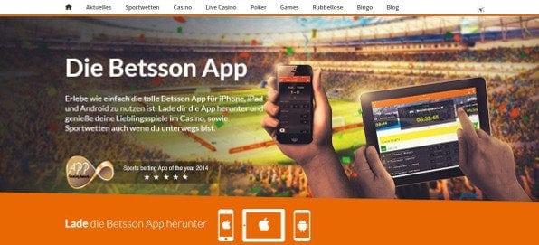 Die umfangreiche App für iOS und Android bietet alle Optionen der Webseite