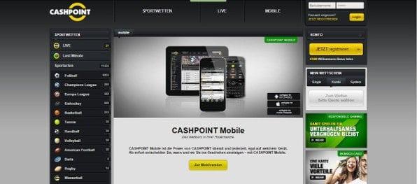 Ansprechende mobile Webseite verzichtet leider auf Live-Angebote