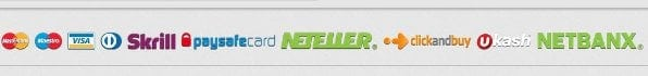 Happybet bietet einige Zahlungsmethoden wie beispielsweise Skrill