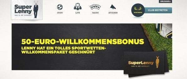Neue Kunden erhalten einen 50%igen Willkommensbonus von bis zu 50 €