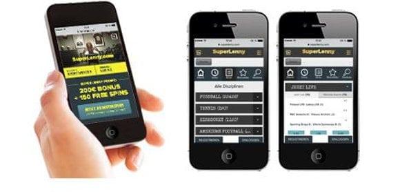 Moderne App fürs einwandfreie Wetten von Unterwegs steht für alle gängigen Systeme bereit