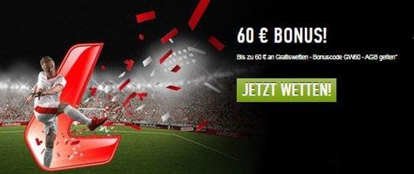 ladbrokes 60 euro bonus