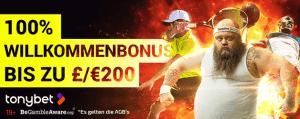 Tonybet Sports Bonus