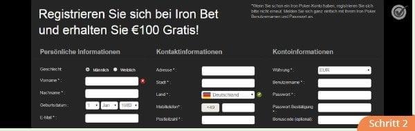 Anmeldung_Ironbet_schritt_2
