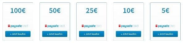 Gibt Es 25 Euro Paysafecard
