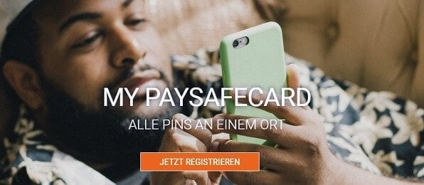 mypaysafecard ist ein Online-Zahlungskonto mit Registrierung