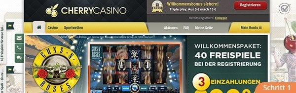 Cherry Casino Angebot