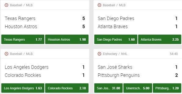 Unibet offeriert auch Basketball Wetten