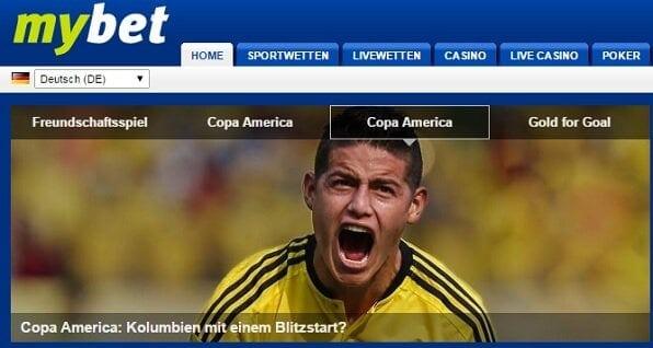 mybet ist Top-Bookie für Fußballwetten