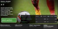 Betway ist Top-Bookie für Fußballwetten