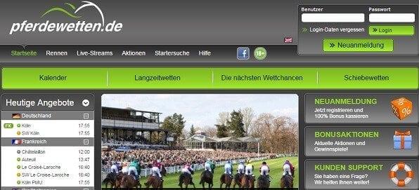 Spezial-Bookie seit 2006: Pferdewetten.de