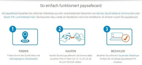 PaysafeCard als Alternative zu Skrill