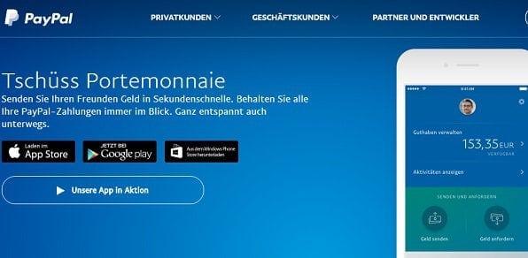 PayPal als beliebte Alternative
