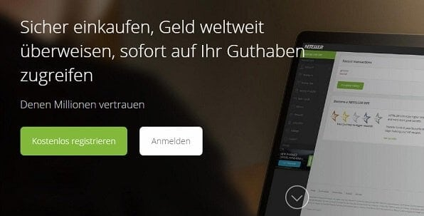 Neteller ist eine Skrill Alternative