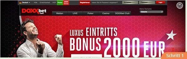 Doxxbet Bonus