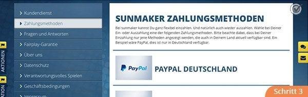Sunmaker Anmeldung Bonus