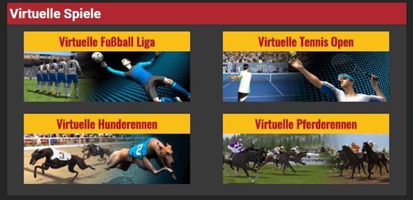 Betolimp virtuelle Wetten