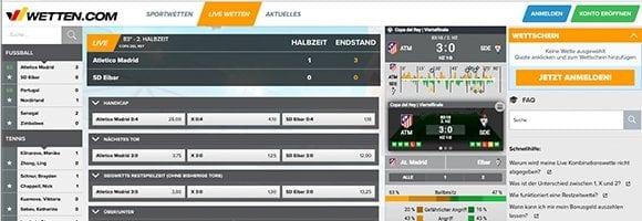 online fussball wetten app