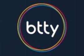 Das btty Logo im Format 280x210