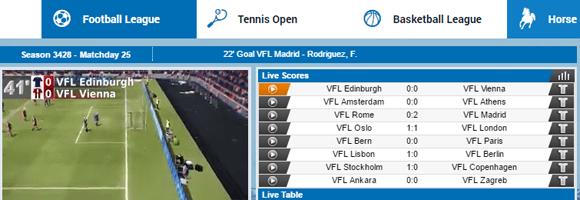 Nordicbet Virtual Sports