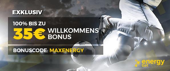 Energybet Sportwetten Bonus