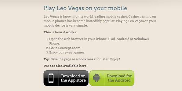 LeoVegas Sport App