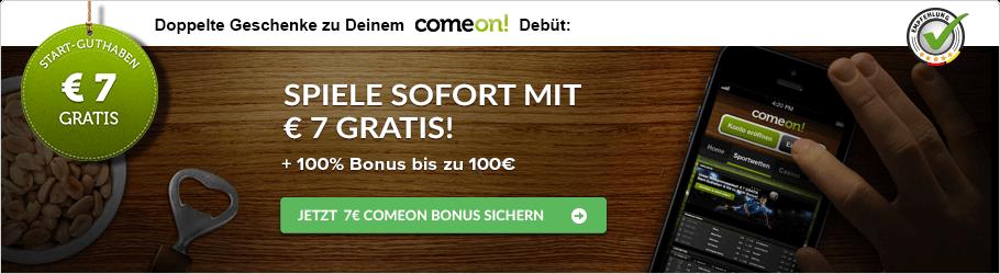 comeon! Bonusempfehlung