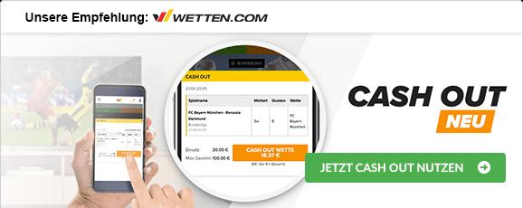 Fußballwetten mit Cash-out wetten.com