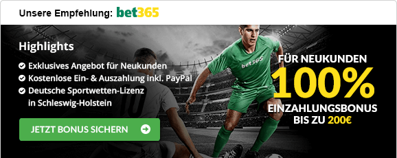 Sportwetten mit Cash-Out bet365