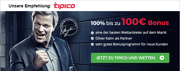Wettanbieter mit Cash-out-Funktion Tipico