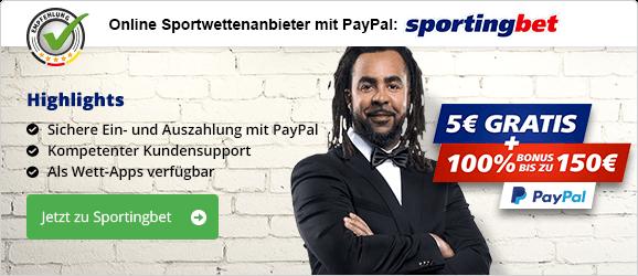 Online Wetten Paypal