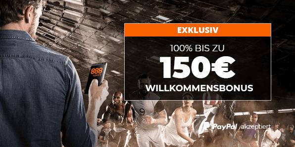888sport Willkommensbonus