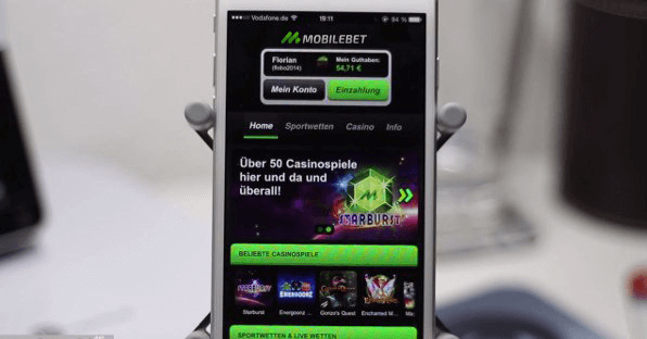 Mobilebet Mobile App Startseite