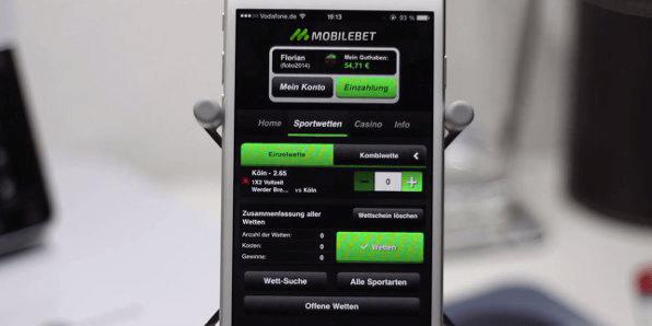 Mobilebet Mobile App Wettmark