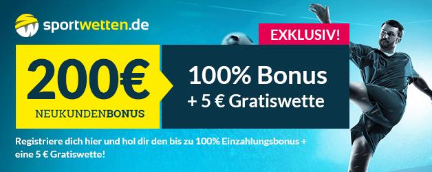 Sportwetten.de Bonus 200