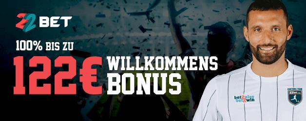 22bet Sport Bonus