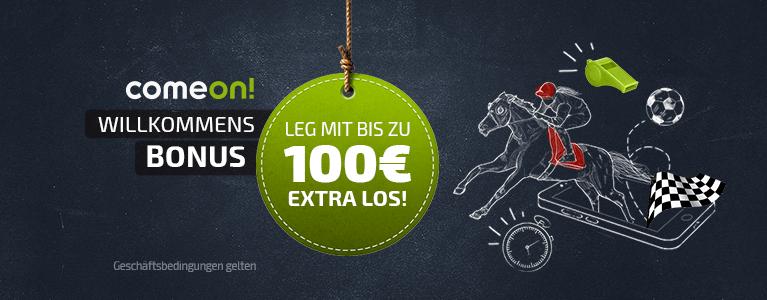 Comeon Sport Bonus 100