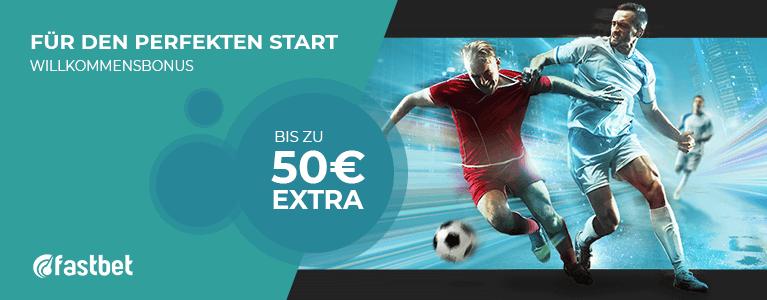 Fastbet Sport Bonus 50