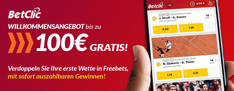 Betclic Sport Bonus 100