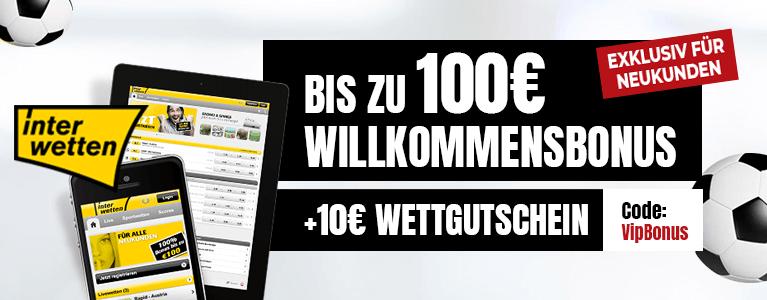 Interwetten Sport Bonus 110