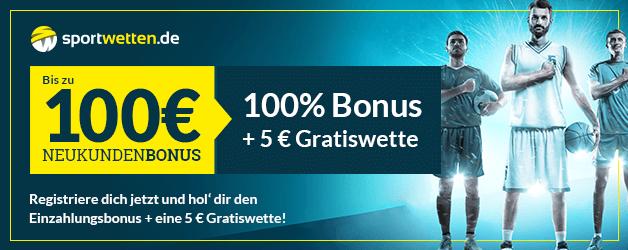 Sportwetten.de Bonus 100