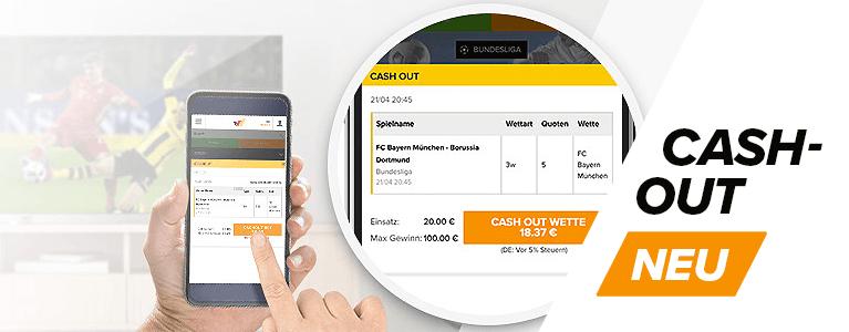 Wetten.com Sport Cashout